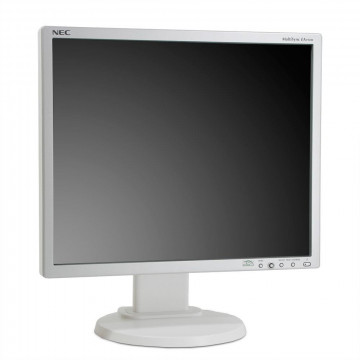 Monitor NEC MultiSync EA192M LED, 19 Inch, 1280 x 1024, VGA, DVI, Second Hand Monitoare Second Hand