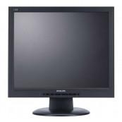 Monitor PHILIPS 170S8, 17 Inch LCD, 1280 x 1024, VGA, DVI, Second Hand Monitoare Second Hand