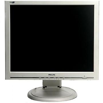Monitor PHILIPS 190S6, LCD, 19 inch, 1280 x 1024, VGA, Fara picior, Second Hand Monitoare cu Pret Redus