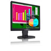 Monitor Philips 19B1 LCD, 19 Inch, 1280 x 1024, 5 ms, 16.7 milioane, VGA, DVI, Second Hand Monitoare Second Hand