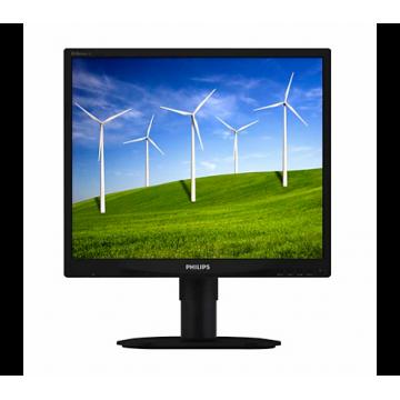 Monitor Philips 19B4 LCD, 19 inch, 1280 x 1024, 5 ms, 16.7 milioane, VGA, DVI, Second Hand Monitoare Second Hand