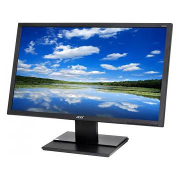 Monitor LCD Acer V246HL, 24 Inch, 1920 x 1080, DVI, VGA, Second Hand Monitoare Second Hand