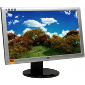 Monitor AOC 2436PWA, 23.6 Inch Full HD LED, VGA, DVI, Second Hand Monitoare Second Hand
