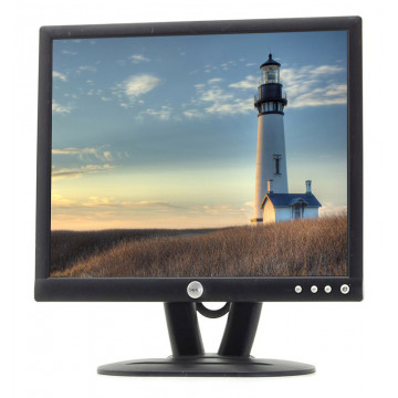 Monitor DELL E193FP LCD, 19 Inch, 1280 x 1024, VGA, 16.7 milioane de culori, Second Hand Monitoare Second Hand