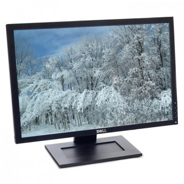 Monitor DELL E2209WF, 22 Inch LCD, 1680 x 1050, VGA, DVI, Second Hand Monitoare Second Hand
