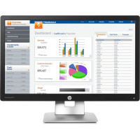 Monitor HP E232, 23 Inch Full HD IPS LED, VGA, HDMI, Display Port, USB