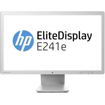 Monitor HP EliteDisplay E241e, 24 Inch IPS LED, 1920 x 1200, VGA, DVI, Display Port, USB, Second Hand Monitoare Second Hand