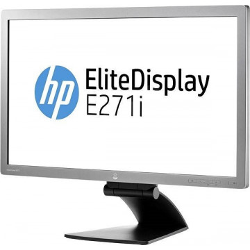 Monitor HP E271i LED IPS, 27 Inch, 1920 x 1080, VGA, DVI, DisplayPort, USB Monitoare Noi