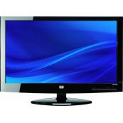 Monitor HP X22 22 inch LCD, 1920 x 1080, DVI, VGA, Widescreen, Grad A-, Second Hand Monitoare cu Pret Redus