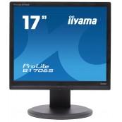 Monitor iiYama ProLite B1706S LCD, 17 Inch, 1280 x 1024, VGA, DVI, Grad B, Second Hand Monitoare cu Pret Redus