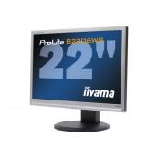 Monitor LED iiYama ProLite B2206WS, 22 Inch, 1650 x 1050, VGA, DVI, Second Hand Monitoare Second Hand