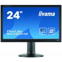 Monitor LED iiYama ProLite B2480HS, 24 Inch Full HD, VGA, DVI, HDMI