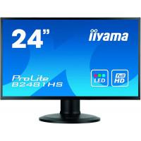 Monitor Iiyama XB2481HS, 24 Inch Full HD VA, VGA, DVI, HDMI