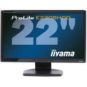 Monitor iiyama E2208HDD, 22 Inch Full HD, VGA, DVI, Grad A-, Second Hand Monitoare cu Pret Redus