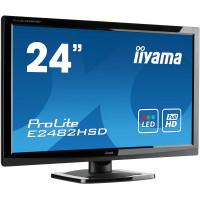 Monitor Iiyama E2482HSD, 24 Inch TN, 1920 x 1080, VGA, DVI