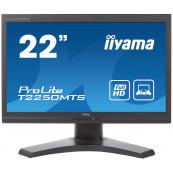 Monitor Iiyama T2250MTS TN, 22 Inch, Touchscreen, 1920 x 1080, VGA, DVI, USB, Second Hand Monitoare Second Hand