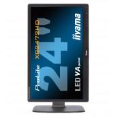 Monitor iiYama XB2472HD, 24 Inch Full HD LED, VGA, DVI, HDMI, Second Hand Monitoare Second Hand
