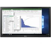 Monitor LG 24MB37PM-B, 24 Inch Full HD IPS LED, VGA, DVI, Fara Picior, Second Hand Monitoare cu Pret Redus