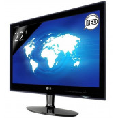Monitor LG E2242, 22 Inch TN, 1920 x 1020, VGA, DVI, 16.7 milioane de culori, Grad A-, Second Hand Monitoare cu Pret Redus