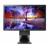 Monitor HP EliteDisplay E221C LED IPS Full HD, 22 Inch, VGA, DVI, USB, Webcam, Boxe integrate, Grad B, Fara picior
