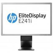 Monitor HP EliteDisplay E241i, 24 Inch Full HD IPS LED, VGA, DVI, USB, Grad A-, Second Hand Monitoare cu Pret Redus