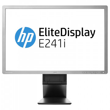 Monitor HP EliteDisplay E241i LED IPS Full HD, 24 Inch, VGA, DVI, USB, Second Hand Monitoare Second Hand