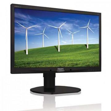 Monitor Philips Brilliance 220B4L, 22 inch, 1680 x 1050, VGA, DVI, Audio, USB Monitoare Second Hand