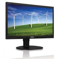 Monitor Philips Brilliance 220B4L, 22 Inch, 1680 x 1050, VGA, DVI, Audio, USB, Fara picior
