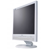 Monitor Philips 170B5, 17 Inch LCD, 1280 x 1024, VGA, DVI, Grad A-