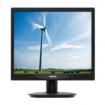 Monitor LCD PHILIPS 17S4L 17 Inch, 1280 x 1024, DVI-D, VGA, Second Hand Monitoare Second Hand