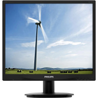 Monitor PHILIPS 19S4Q, 19 Inch IPS LED, 1280 x 1024, VGA, DVI