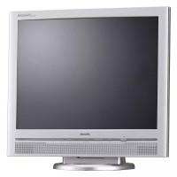 Monitor PHILIPS 200P, 20 Inch LCD, 1600 x 1200, VGA, DVI, Boxe integrate, Grad A-