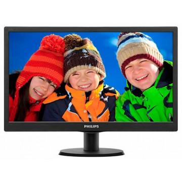 Monitor LCD Philips 203V5L, 20 Inch, 1600 x 900, VGA, Second Hand Monitoare Second Hand