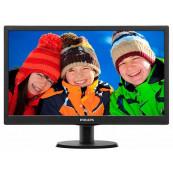 Monitor Philips 203V5L, 20 Inch LCD, 1600 x 900, VGA, Second Hand Monitoare Second Hand