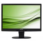 Monitor PHILIPS 220B2, 22 Inch LCD, 1680 x 1050, VGA, DVI, USB, Second Hand Monitoare Second Hand
