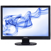 Monitor PHILIPS 220VW, 22 Inch LCD, 1680 x 1050, VGA, DVI, Second Hand Monitoare Second Hand