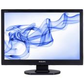 Monitor PHILIPS 226V, 22 Inch LCD, 1920 x 1080, VGA, DVI, Second Hand Monitoare Second Hand
