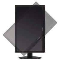 Monitor Philips 221B3L, 22 Inch LED Full HD, VGA, DVI, USB, Boxe Integrate, Culoare Gri