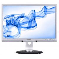 Monitor PHILIPS 225P1, 22 Inch LCD, 1680 x 1050, VGA, DVI, USB, Fara picior