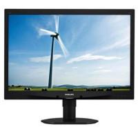 Monitor Philips Brilliance 240S4L, 24 inch Full HD, 1920 x 1080, VGA, DVI, Boxe Integrate