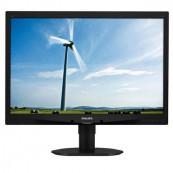 Monitor Philips Brilliance 240S4L, 24 inch Full HD, 1920 x 1080, VGA, DVI, Boxe Integrate, Second Hand Monitoare Second Hand