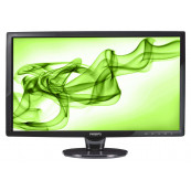 Monitor PHILIPS 241E1, 24 Inch Full HD LCD, VGA, DVI, Second Hand Monitoare Second Hand