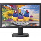 Monitor ViewSonic VG2436wm, 24 Inch LED Full HD, VGA, DVI, Boxe integrate, Second Hand Monitoare Second Hand