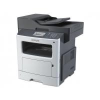 Multifunctionala Laser Monocrom Lexmark MX511de, Duplex, A4, 42ppm, 1200 x 1200dpi, Fax, Copiator, Scanner, USB, Retea, Toner si Unitate Drum Noi