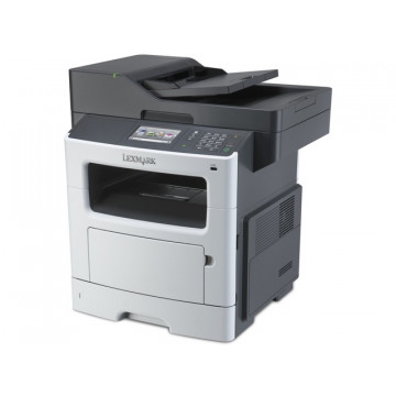 Multifunctionala Laser Monocrom Lexmark MX511de, Duplex, A4, 42ppm, 1200 x 1200dpi, Fax, Copiator, Scanner, USB, Retea, Toner si Unitate Drum Noi, Second Hand Imprimante Second Hand