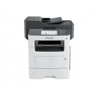 Multifunctionala Laser Monocrom LEXMARK MX611DE, 47 PPM, A4, Duplex, Retea, Fax, 1200 x 1200