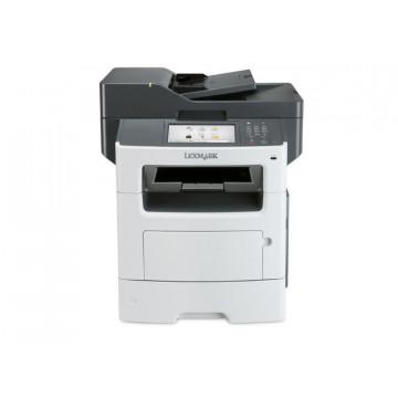 Multifunctionala Laser Monocrom LEXMARK MX611DE, 47 PPM, A4, Duplex, Retea, Fax, 1200 x 1200, Second Hand Imprimante Second Hand