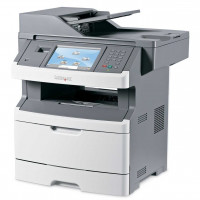 Multifunctionala Laser Monocrom Lexmark x464de, Duplex, A4, 38ppm, 1200 x 1200, Imprimanta, Copiator, Scanner, Fax, USB, Retea, Toner 100%