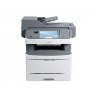 Multifunctionala Laser Monocrom Lexmark x464de, Duplex, A4, 38ppm, 1200 x 1200, Imprimanta, Copiator, Scanner, Fax, USB, Retea, Toner Nou