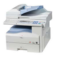 Multifunctionala Laser Monocrom, Ricoh MP201, Duplex, A4, 20ppm, 600 x 600, Copiator, Scanne, Fax